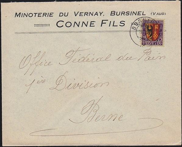 1918-Pro-Juventute-Brief-Bursinel-VD
